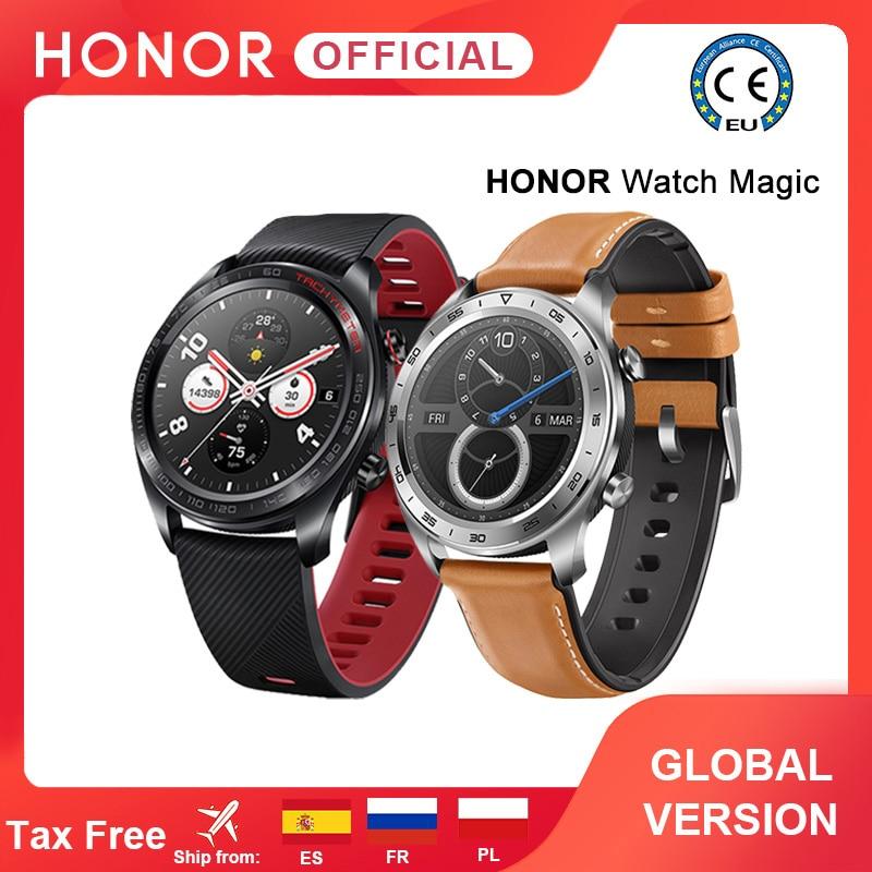 Глобальная версия, Honor Magic Huawei, Волшебные часы, умные часы, пульсометр, водонепроницаемый трекер, трекер сна, GPS, работа для Android iOS