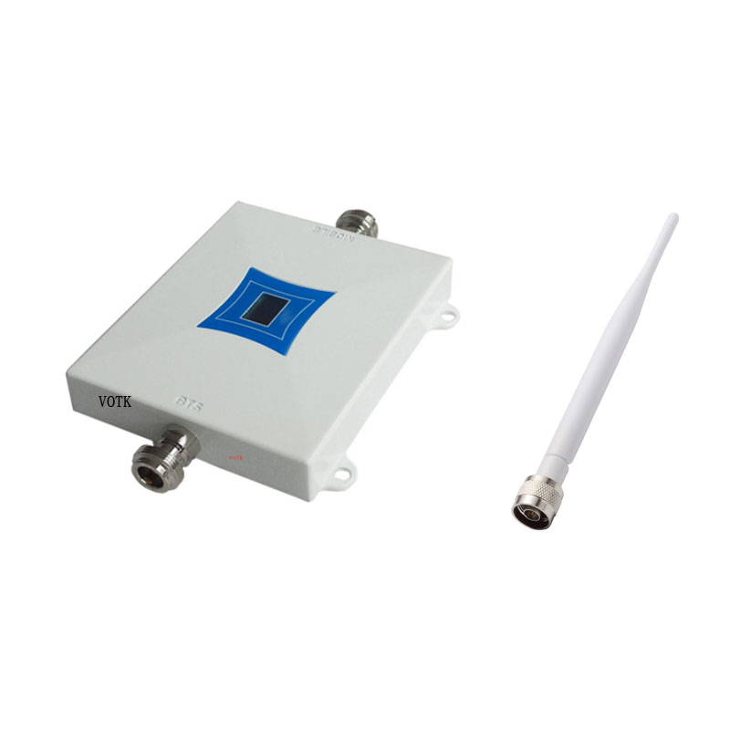 NEW VOTK 65DBI 4G DCS Signal Booster MOBILE PHONE 4G LTE 1800MHZ SIGNAL REPEATER 4G Signal Amplifier WITH Indoor Antenna