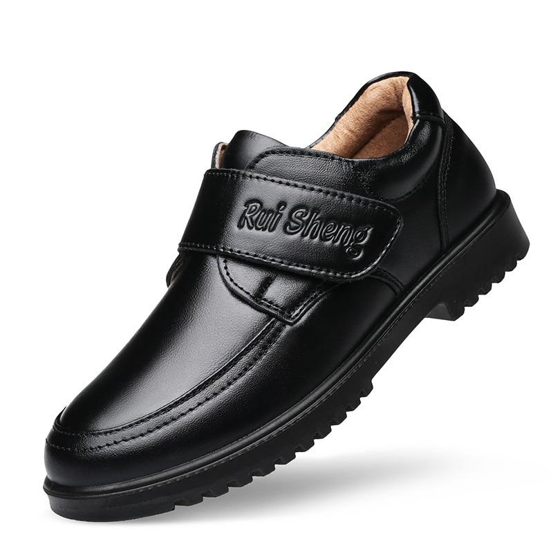 Chłopcy ubierają buty 2020 wiosenne dziecięce buty szkolne dla chłopców w stylu brytyjskim dziecięce buty ze skóry naturalnej Piano Performance Wedding