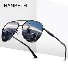 Модные солнцезащитные очки для мужчин и женщин поляризационные