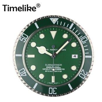 Wanduhr Luxus Design Metall Kunst Uhr Uhren Relogio De Parede Decorativo Wohnkultur mit Entsprechenden Logos 2019 Heiße Verkäufe