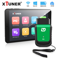 Newest Version XTUNER E3 Easydiag OBD2 Wifi ODB 2 Auto scanner 8 inch Windows Tablet Car Diagnostic Tool Replacement Vpecker
