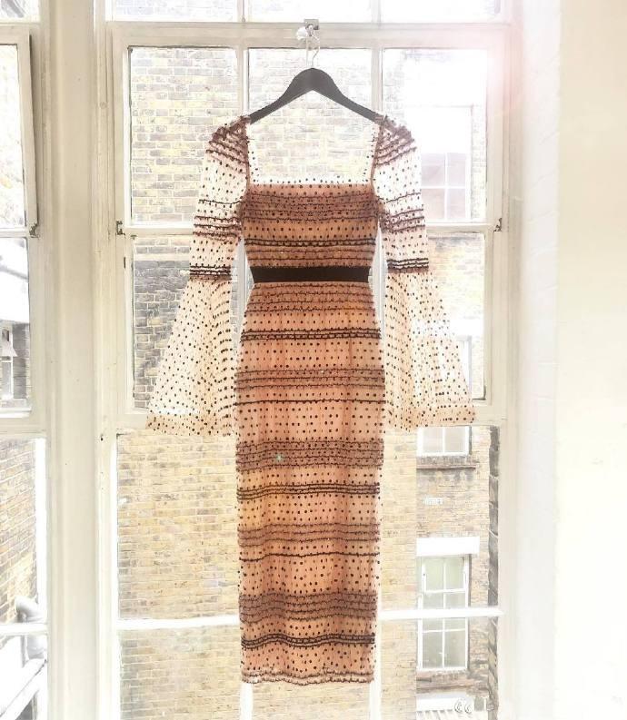 2020 New Arrive High Quality Sequins Dot Dress