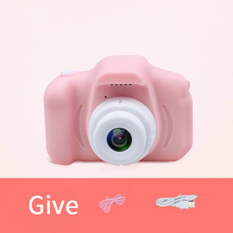 3 Color Children's Mini Camera Photos, Videos, Games, 12G Tf Card, Support 20 Languages, Children's Educational Toys  Gift