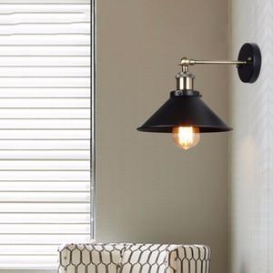 Image 4 - בציר מנורת קיר, תעשייתי רטרו קיר אור, חדר שינה סלון קיר פמוטים, עבור מסעדת מסדרון חנות קישוט תאורה