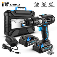 DEKO GCD20DU 20V Max Household DIY Woodworking Lithium-Ion Battery Cordless Drill Driver Power Tools Electric Drill Power Drill(China)