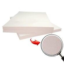 10 шт. A4 теплообменная бумага светового цвета с функцией самокопирования бумага теплопередачи для светлой цветной футболки подушки