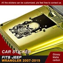 Наклейка для автомобиля совок Череп полоса графический винил