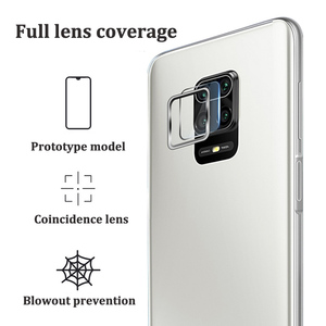 Image 2 - Camera Lens Protective Ring + Tempered Glass for Xiaomi Redmi Note 9s 9 Pro Max Lens Screen Protector for Redmi Note 9s 9 S