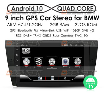 2 Din Android 10 Car Radio Multimedia Video Player For BMW 3 Series E90 E91 E92 E93 Navigation GPS NO dvd 4G RAM 64G wifi 4G image