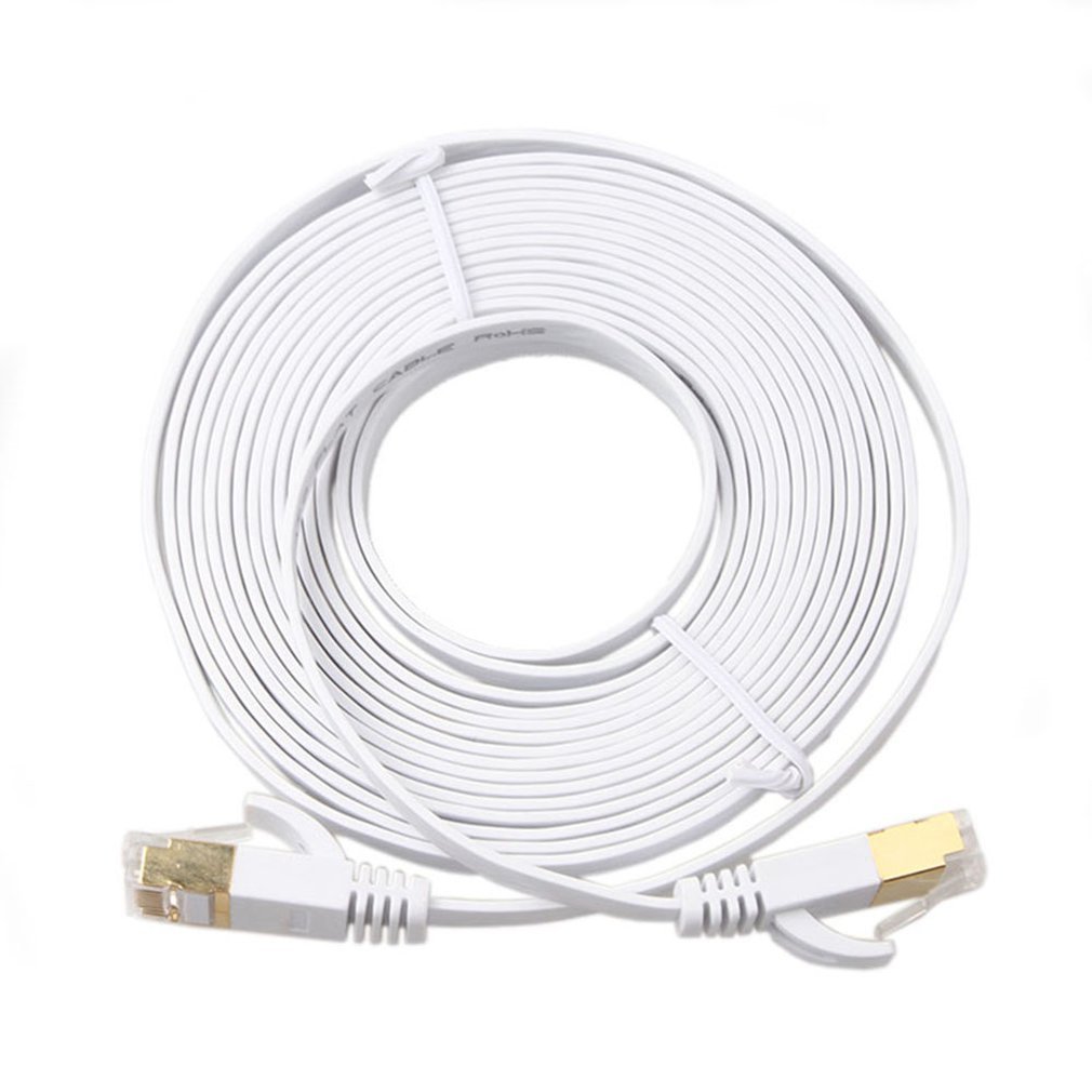 1m 3m 5m 10m 15m 30m CAT7 Lan Cable RJ45 Cat 6 Cable RJ45 Ethernet Network Cable Short Patch Cord For Laptop Router