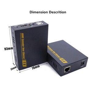 Image 5 - 2020 HD HDMI KVM hợp Qua TCP IP Hỗ Trợ HỒNG NGOẠI Mạng IP KVM Nối Dài USB HDMI 150M Qua UTP/STP RJ45 KVM Mở Rộng CAT5 CAT6