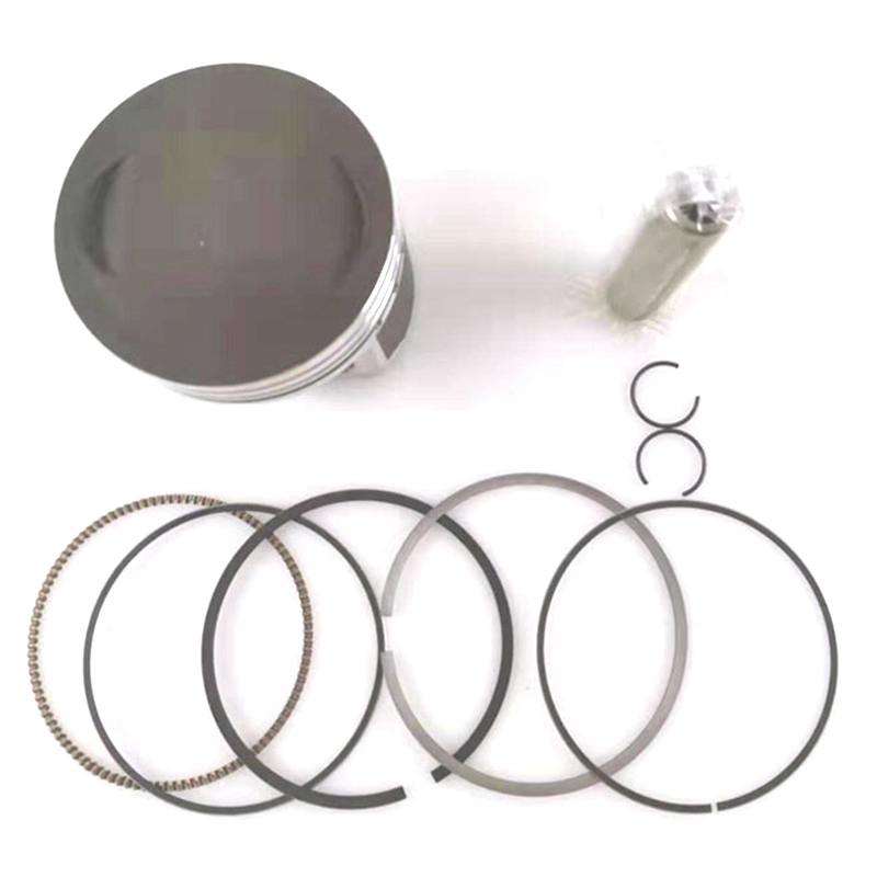 Motorcycle 62 mm Piston 13 mm Pin Ring Set Kit Assembly for HONDA CG150 CGH150 ZJ150 Irbis GS150 150cc image