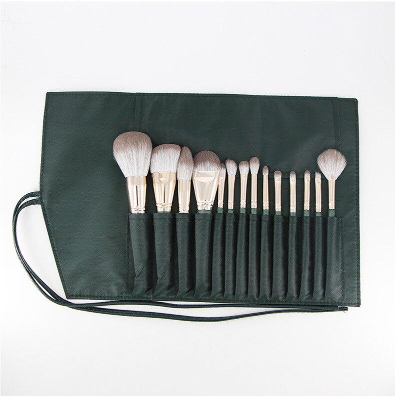 de olho sobrancelha olhos lábios mistura compõem escova kit de ferramentas