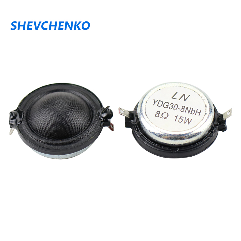 1.25Inch 30mm Tweeter <font><b>8ohm</b></font> <font><b>15W</b></font> Silk Film Dome Advanced Tweeter Repair Home Aaudio <font><b>Speaker</b></font> DIY 2pcs image