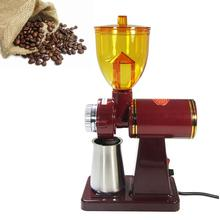 лучшая цена New Electric Automatic 250g Coffee Burr Grinder Coffee Burr Mill Coffee Bean Grinder Household Coffee Grinding Machine CE