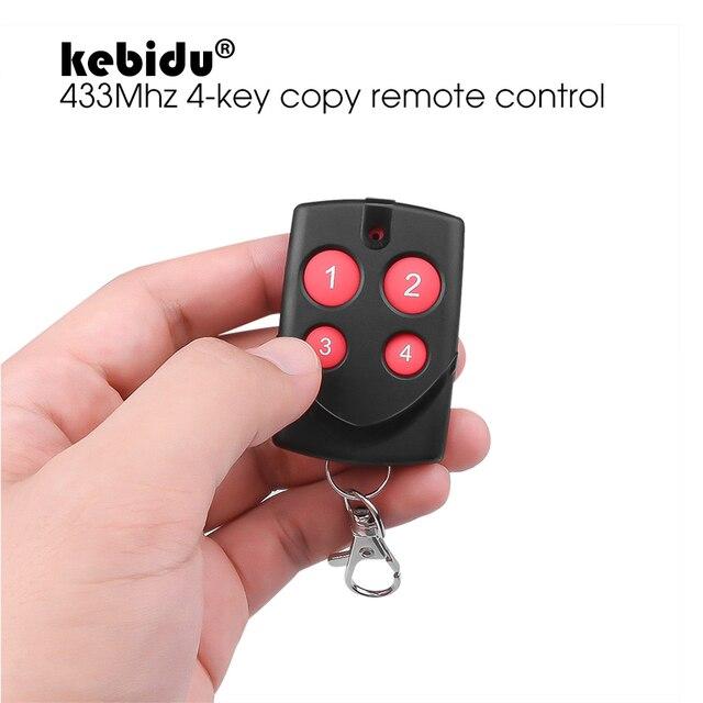 Kebidu Copia multifrecuencia RF 270 868mhz, código para Control remoto para puerta de garaje, duplicador, mando a distancia de código fijo