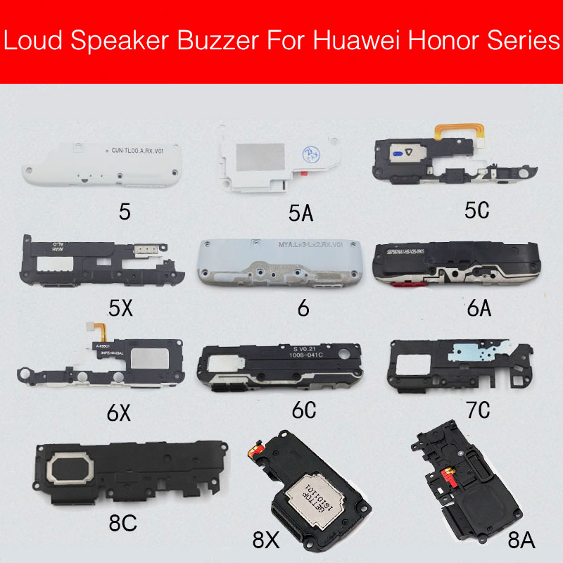 Loud Speaker Buzzer Module For Huawei Honor 4A 4X 5 5A 5C 5X 6A 6X 7A 7C 7X 8A 8C 8X Loudspeaker Ringer Replacement