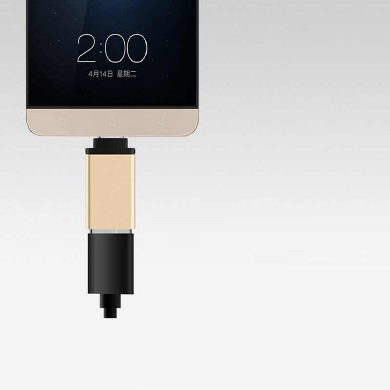 USB-C Tipe-C untuk USB OTG Mini USB 3.0 Converte untuk Samsung Galaxy Note8 Kecepatan Tinggi Bersertifikat Ponsel aksesoris Charger