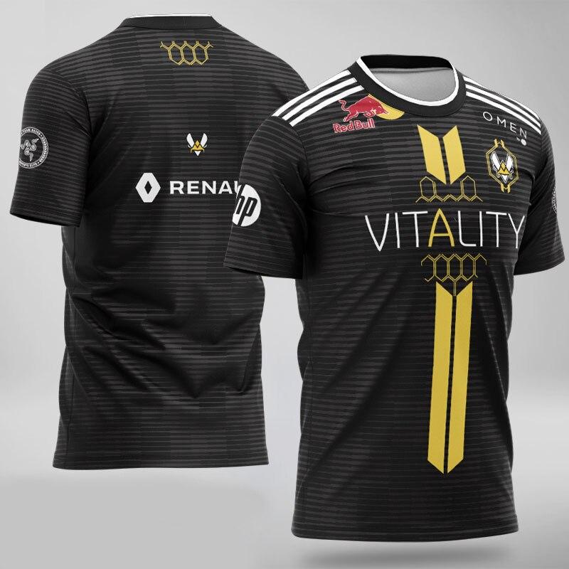 2019 Team Vitality Jersey APEX ZYW00 Fans T-shirt Men Women T Shirts Custom ID Tee Shirt Homme