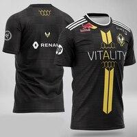 2019 Team Vitality Jersey APEX ZYW00 Fans T shirt Men Women T shirts Custom ID Tee Shirt Homme