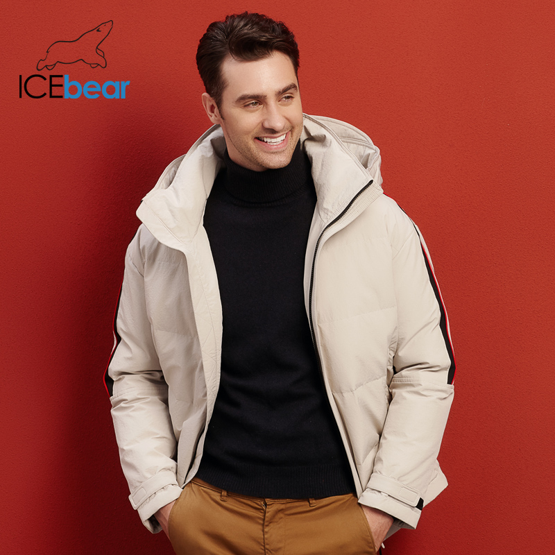 2019 nouveau hiver hommes doudoune haute qualité mâle manteau élégant homme vêtements marque hommes Parkas MWY19952 - 3