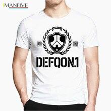 Defqon 1 Pure Designer T Shirt Men Tshirts Hip Hop Mens Short Sleeved T-shirts Fashion casual T-shirt