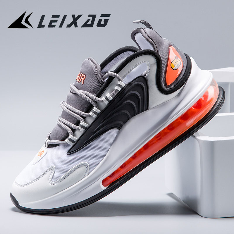 LEIXAG Air Cushion Men Running Shoes Outdoor Men Sport Shoes Lightweight Jogging Sneakers Breathable Mesh Athletic Training Shoe