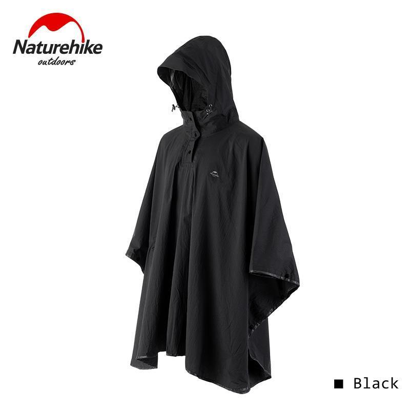 Naturehike 2020 New Waterproof Breathable Poncho Mountain Outdoor Climbing Hiking Camping Fashion Jacket Raincoat For Men Women