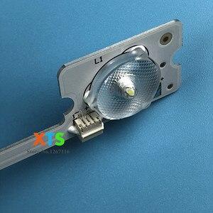 Image 2 - 400 Cái/lốc Dải Đèn LED Thanh Đèn Làm Việc Cho KDL32MT626U 35019055 35019056 20 Chiếc * 4LED + 20 Chiếc * 3LED 1LED = 6V