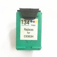 Vilaxh 134 Substituição do Cartucho de Tinta Compatível para HP 134 Para Hp Deskjet 5743 6623 6843 6523 5943 6983 7313 7413 2713 8153 printer