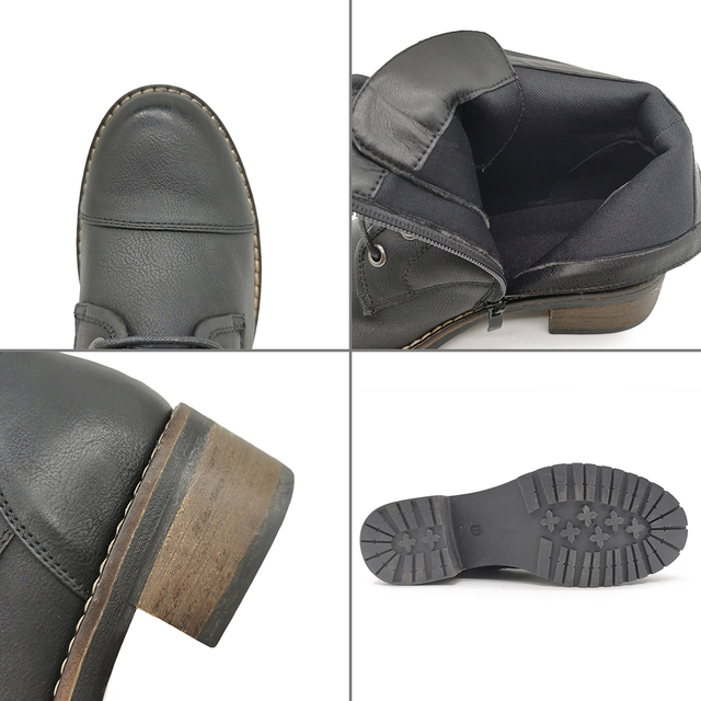 Купить женские зимние ботинки u double 2020 модные ботильоны женская картинки цена