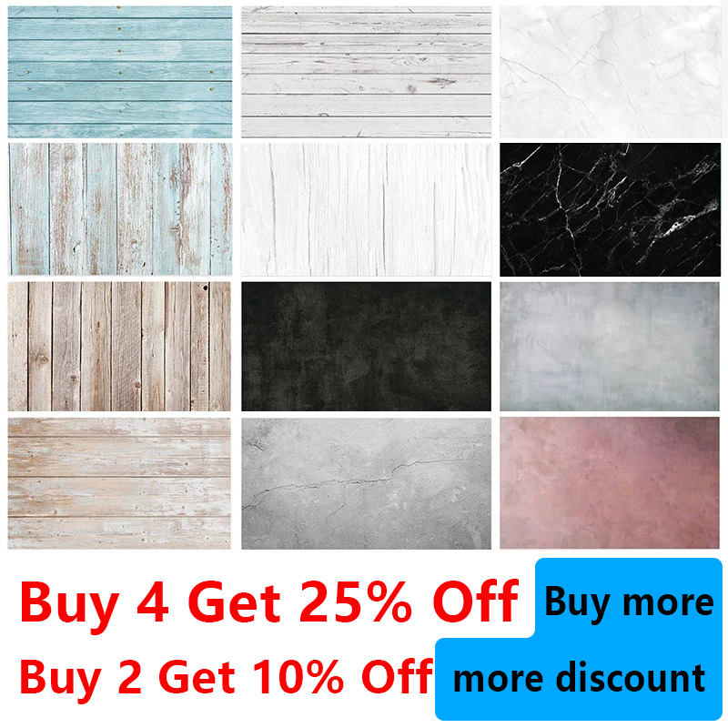 Photo studio photography backdrop 57*87cm background paper marble wood grain 2 sides waterproof Photophones for photos props