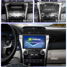 Für Toyota 12-14 Camry Fahrzeug Radio Android Auto GPS Navigation Android9 Auto Radio GPS Navigation Autoradio Stereo-Player 2G + 32G(China)