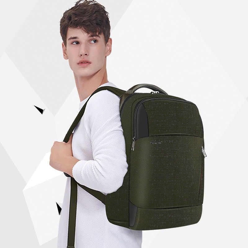 2019 nueva moda RFID antirrobo hombres mochila portátil de 15,6 pulgadas carga USB macho hembra impermeable bolsos escolares duraderos