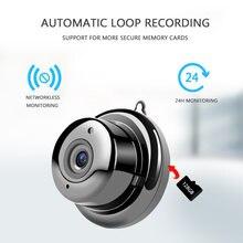 Беспроводная ip камера v380 с функцией ночного видения 1080p
