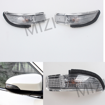 цена на Rearview Side Mirror Light For Toyota COROLLA CAMRY YARIS Prius C Avalon Left & Right LED Side Turn Signal Lights