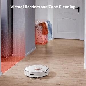 Image 3 - مكنسة كهربائية من Roborock S50 S55 Xiao mi 2 لتنظيف ممسحة المنزل وتنظيف الأتربة ومسار كنس ذكي مخطط له روبوت mi