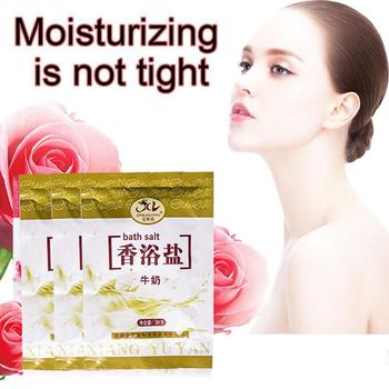 1 Bag Bath Sea Salts Shower Body Foot Massager Skin Care Scruber Exfoliation Rose Gift Essence Powder SPA V3H4