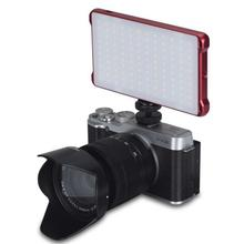 Yongnuo YN125 10W LED Video Light Pocket on Camera Photography Lamp for Sony Nikon DSLR aputure amaran al h198 cri 95 on camera led video light for canon nikon sony panasonic camcorders