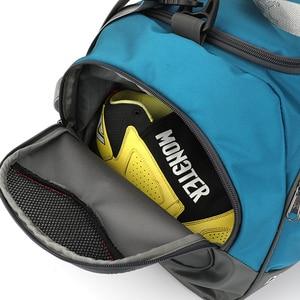 Image 5 - 2020 New 40L Dry Wet Gym Bag For Fitness Travel Shoulder Bag Handbag Waterproof Sports Shoes Women Men Sac De Sport Training Tas