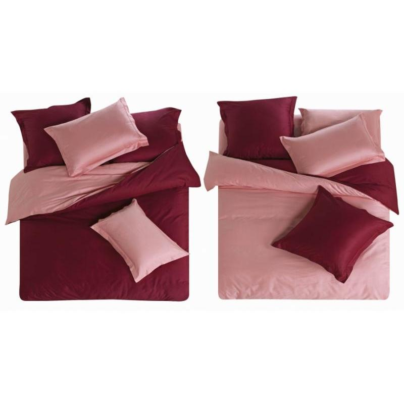 Bedding Set полутораспальный СайлиД, L, Bordeaux/Pink bedding set полутораспальный сайлид red flowers