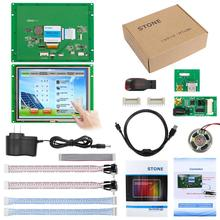 8 tft lcd industrial touch monitor can be controlled by any MCU