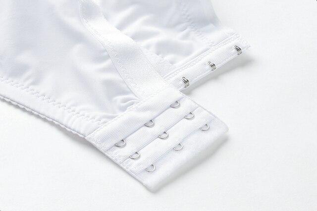 Beauwear grande taille 36-52 grande tasse DD DDD E F tasse soutien-gorge sans doublure femmes sous-vêtements de base couverture complète soutien à armatures Bh