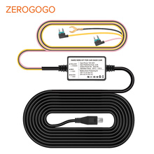 ZEROGOGO Hard Wire Kit 12V to 5V Hardwire for Dash Cam Car Adapter Cable for DVR Charging for Dash Cam Wire for DVR with ACC