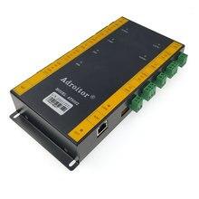 Contrôle daccès tcp/ip à deux portes, contrôle daccès, lecteur wg26/34, support de présence, accès/alarme/doigt/web/téléphone, sn:At 02, dernier modèle
