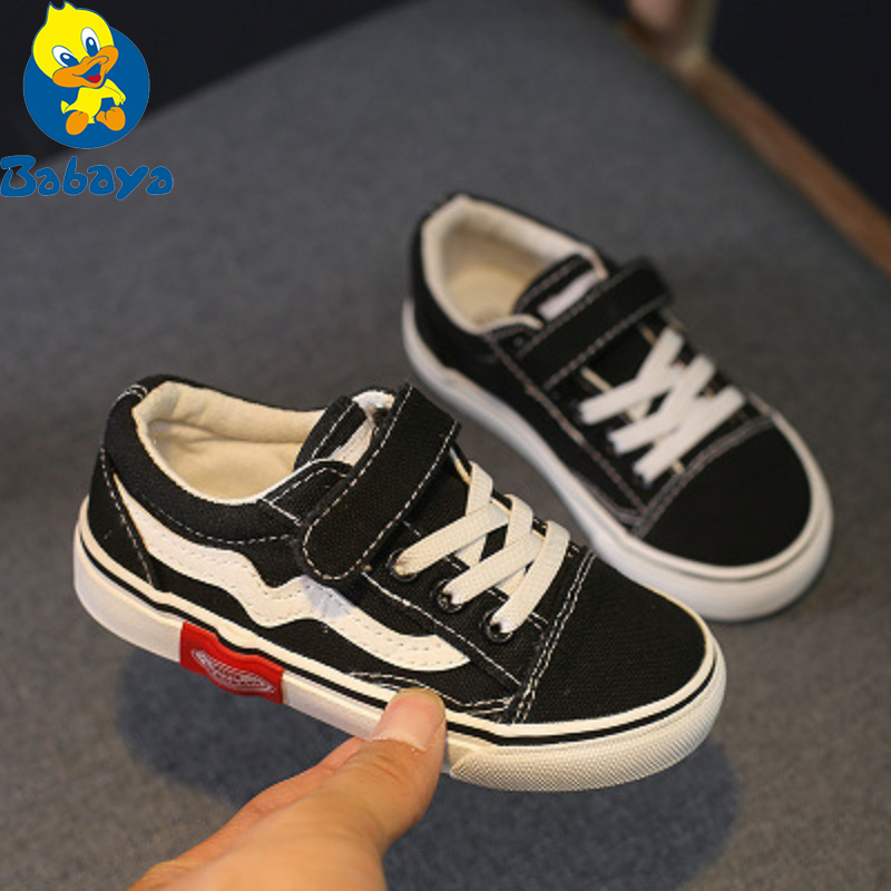 Autumn New Children Canvas Shoes Girls Sneakers Breathable Spring Fashion Kids Shoes For Boys Casual Shoes Student