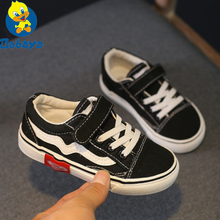 Autumn New Children Canvas Shoes Girls Sneakers Breathable Spring Fashion