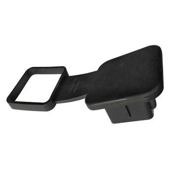 Tapa de enchufe 2 pulgadas receptores reemplazo negro Universal remolque coche a prueba de polvo funda de enganche de remolque Protector de inserto de goma Durable