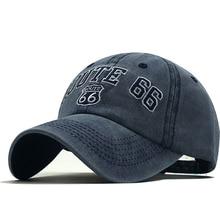 Cotton Snapback Hats Baseball-Caps Trucker Hip-Hop Embriodery Adjustable America-Style